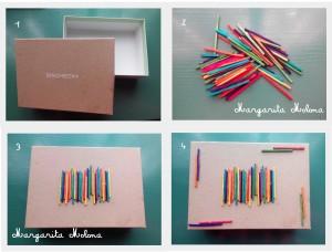 caja palitos colores