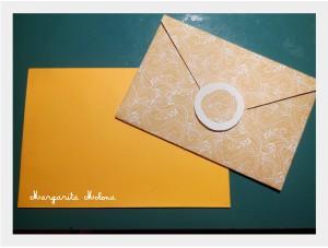 Postal dorada